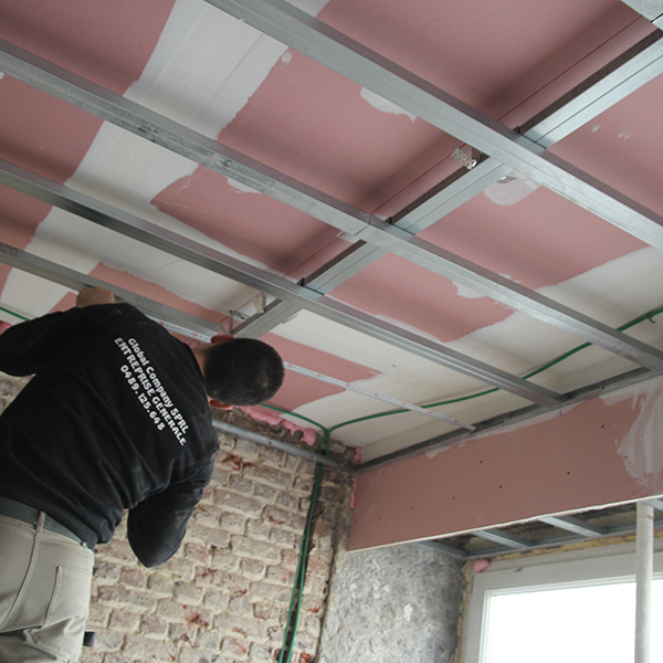 Rénovation appartement Bruxelles